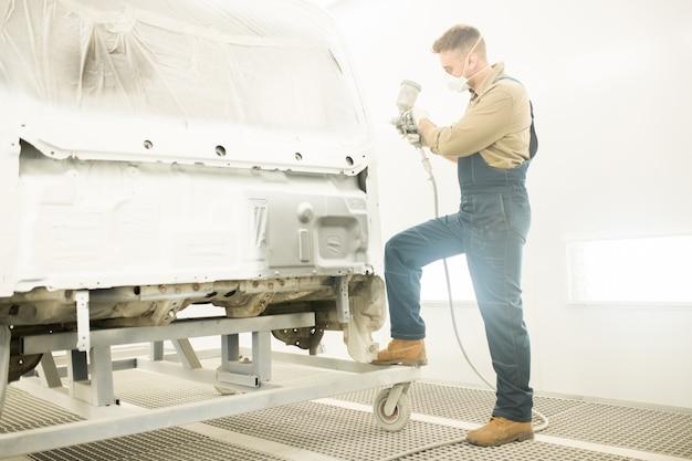 Mechanische schilderij car body