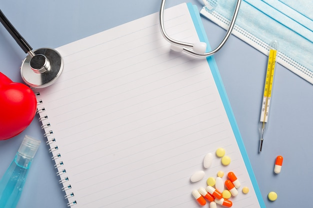 Medicijnrecept voor behandelingsmedicatie.