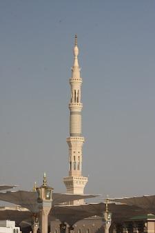 Medina-moskee van de profeet mohammed in medina ksa