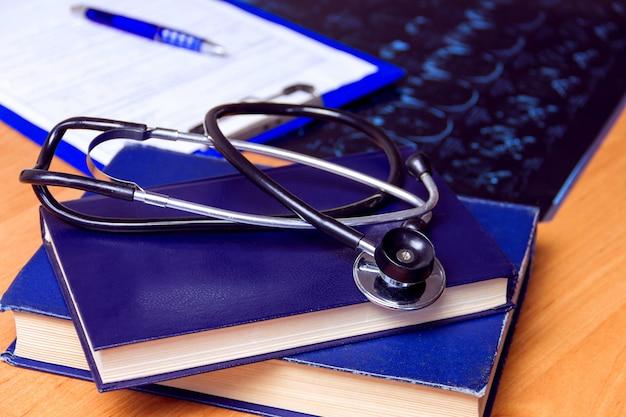 Medisch laboratorium werkplek