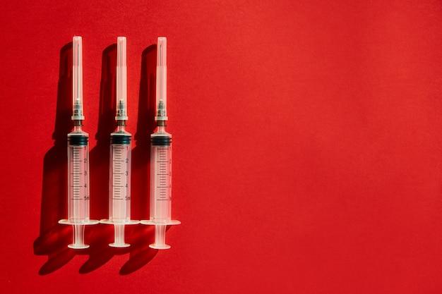 Medische lege injectienaalden