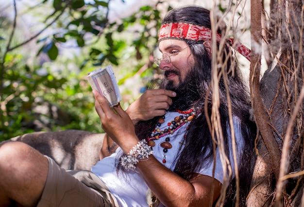 Meditatie in het bos - 11