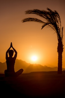 Meditatie in pittoreske tropen