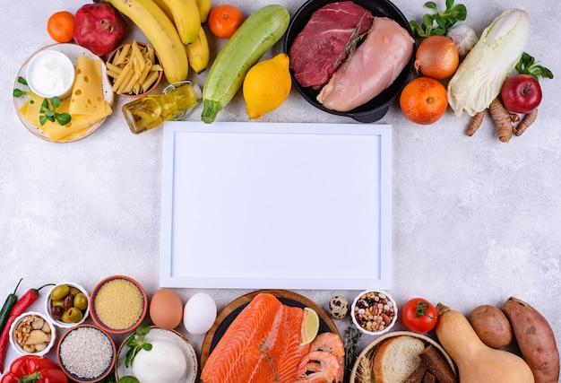 Mediterraan dieet gezond uitgebalanceerd voedsel