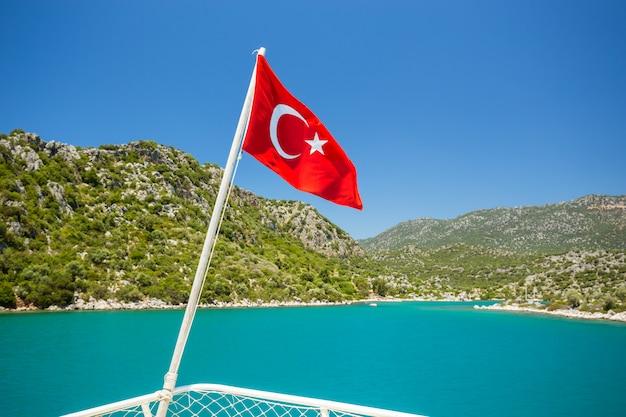 Mediterrane kust, turkije.