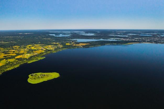 Meer drivyaty in het braslav lakes national park