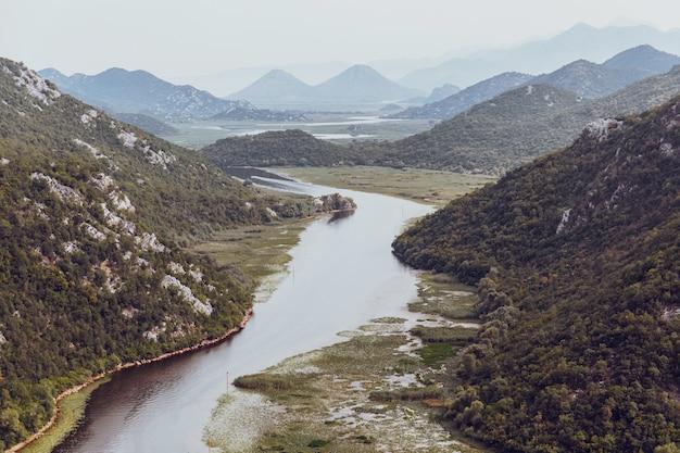 Meer skadar in montenegro
