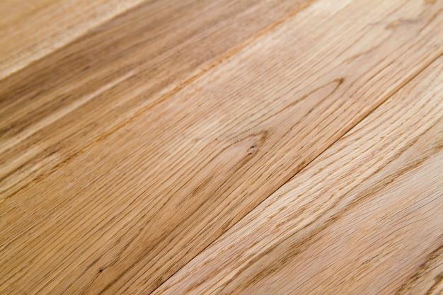 Meerdere planken van mooie laminaat- of parketvloer met houten structuur als achtergrond