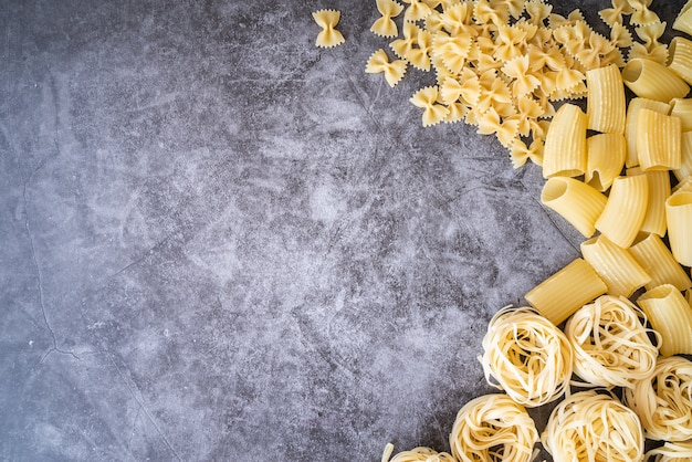 Meerdere soorten pastaframes