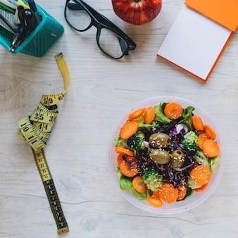 Meetlint en salade