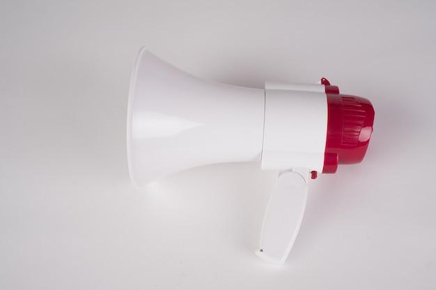 Megafoon luidspreker geïsoleerd