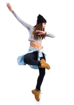Meisje dansen hiphop