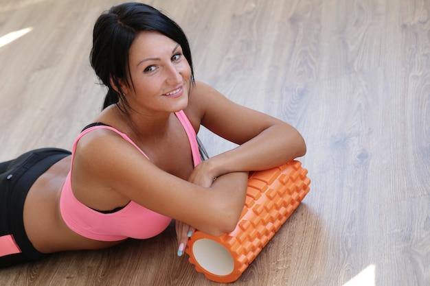 Meisje in de sportschool