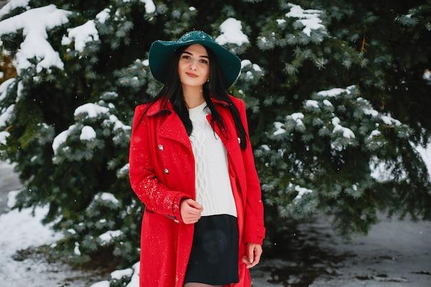 Meisje in de winter