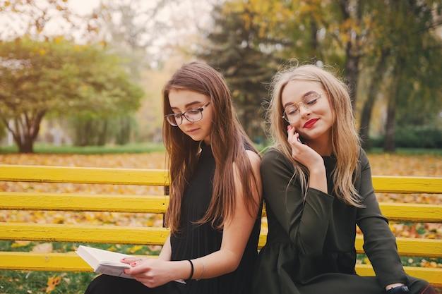 Meisje in het park