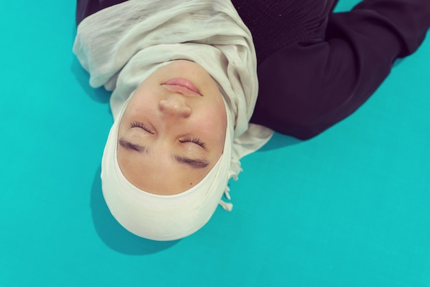 Meisje in hijab