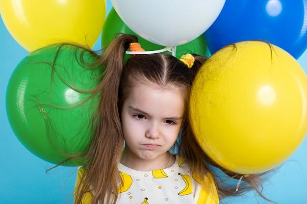 Meisje met baloons