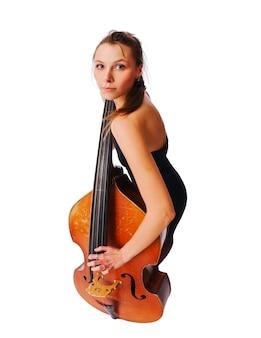 Meisje met cello