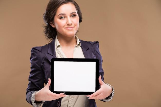 Meisje met de tablet