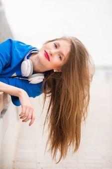 Meisje met lang haar