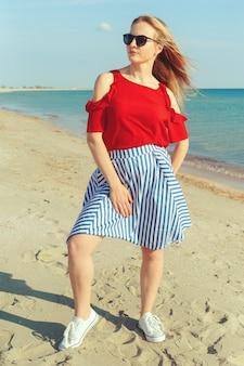 Meisje op de zee