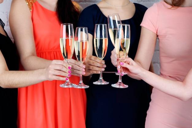 Meisjes hebben feestviering