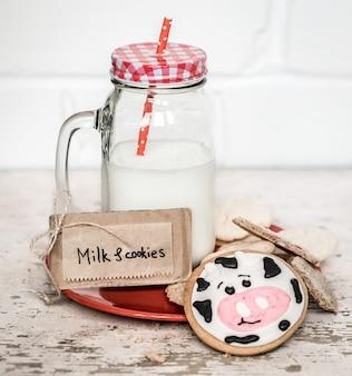 Melk en babykoekjes