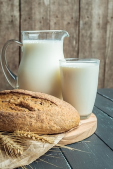 Melk en bakkerijproducten