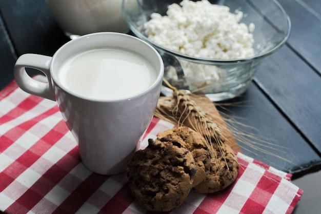 Melk, kwark - zuivelproducten