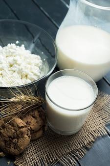 Melk, kwark