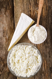 Melkproducten, zuivelproducten, zuivelproducten