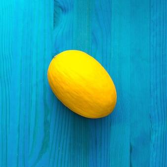 Meloen. frisse tropische ideeën. creatieve kunst