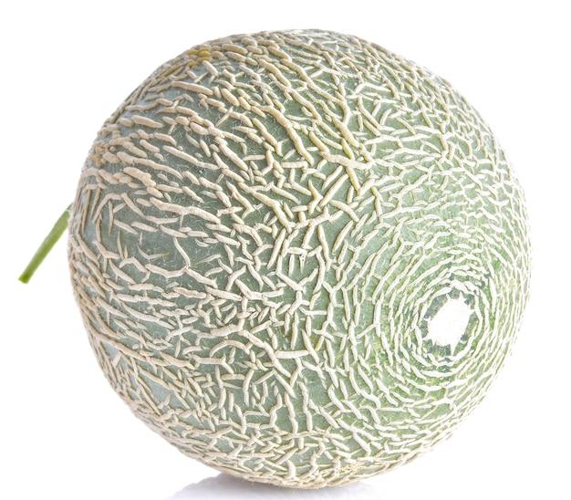 Meloen op een wit oppervlak