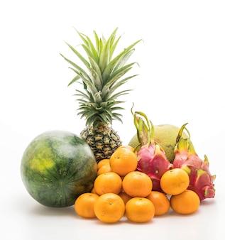 Meng fruit geïsoleerd