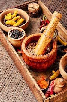 Meng indiase kruiden