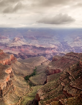 Mening van grand canyon, arizona, de vs