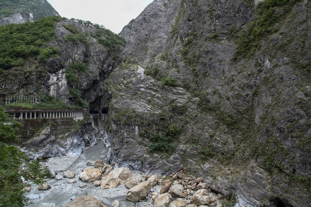 Mening van taroko nationaal parklandschap in hualien, taiwan.