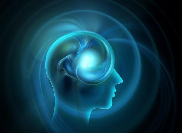 Menselijke geest een conceptontwerp