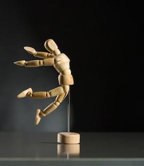 Menselijke houten oefenpop