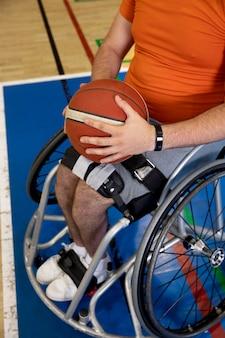Mensen die sporten met een handicap