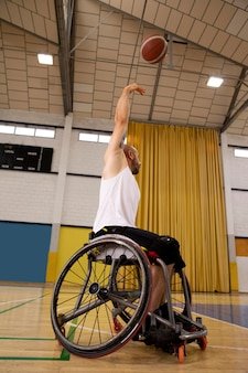 Mensen die sporten met een handicap Gratis Foto