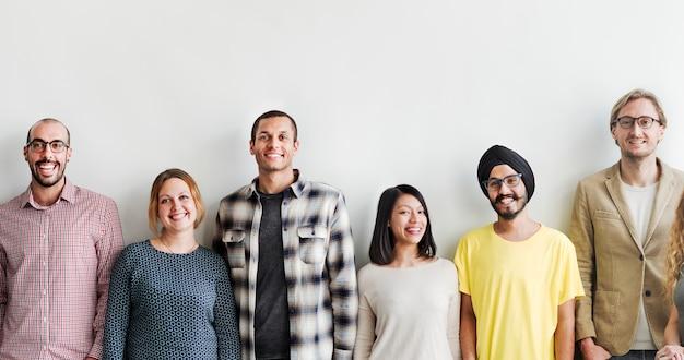 Mensen diversiteit vrienden vriendschap geluk concept