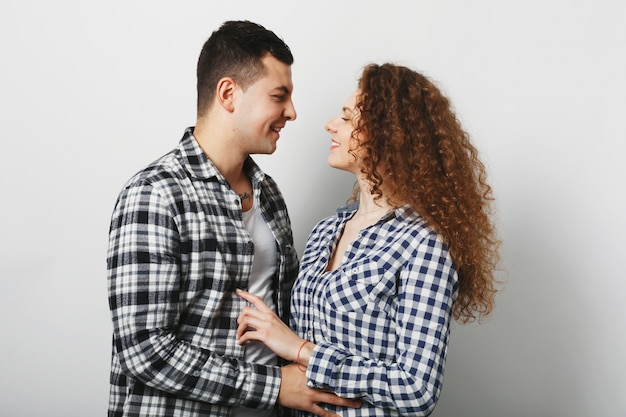 Mensen, liefde en relatie concept.