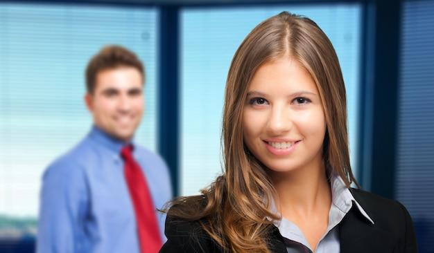 Mensen uit het bedrijfsleven portret
