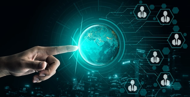 Mensennetwerk en wereldwijde communicatie