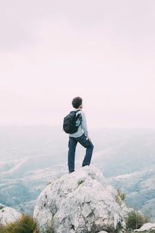 Mensentrekking in bergen