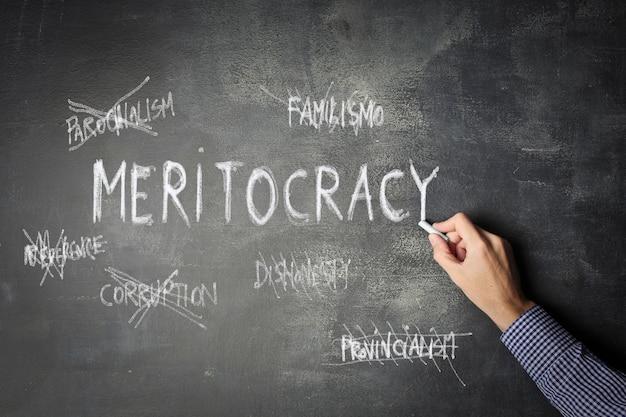 Meritocratie in het bedrijfsleven