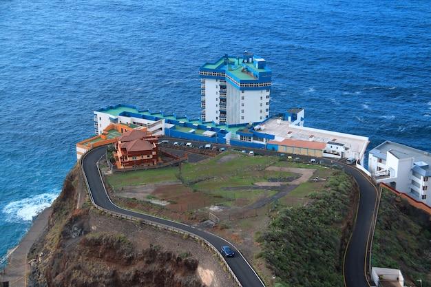 Mesa del mar, tenerife, canarische eilanden, spanje.