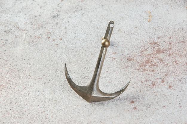 Messing anker op beton