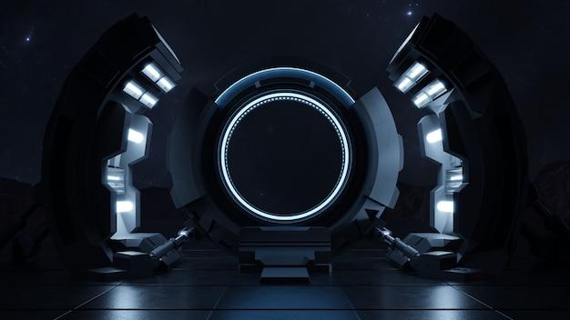 Met de snelheid van het licht door de deur van de toekomst reizen.